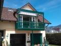 Balkonüberdachung - Lamellendach