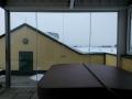 Vertikalverglasung Nurglasanlage (Wolfsberg)